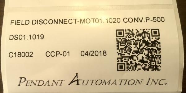 Field Device QR Code