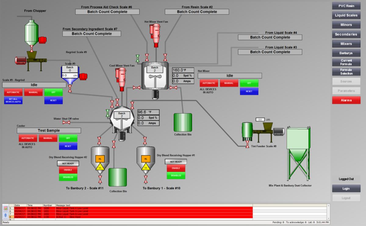 PLC Based Operator Station