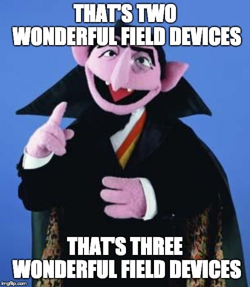 Field Device Count