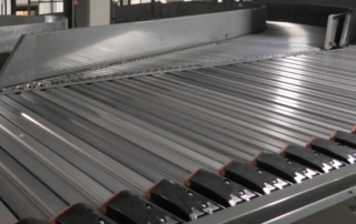 conveyor merges and sortation