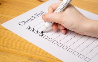 Control system quotes checklist